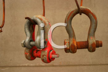 Royalty Free Photo of Clamps
