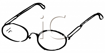 Royalty Free Clipart Image of Glasses