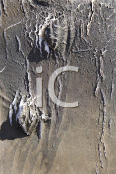 Royalty Free Photo of Old and Disintegrating Vinyl Covering From an Old Automobile