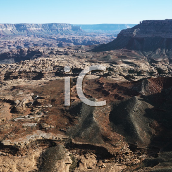 Royalty Free Photo of an Aerial View of the Grand Canyon National Park in Arizona, USA