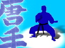 Royalty Free Video of a Man Doing Karate