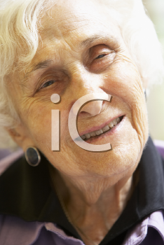 Royalty Free Photo of a Smiling Senior