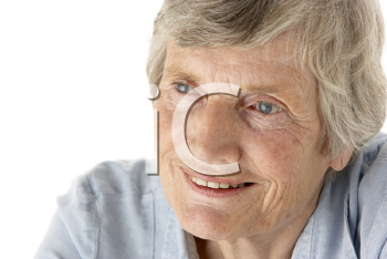 Royalty Free Photo of a Senior Woman