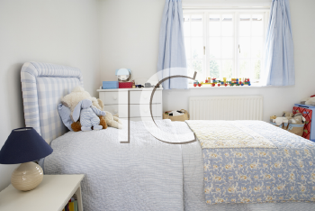 Royalty Free Photo of a Child's Bedroom