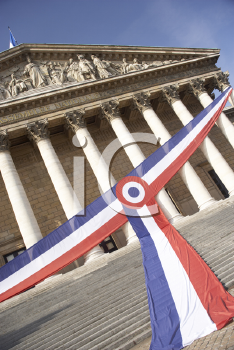 Royalty Free Photo of the National Assembly in Paris, France