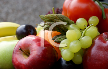 Various fruit and vegetables
