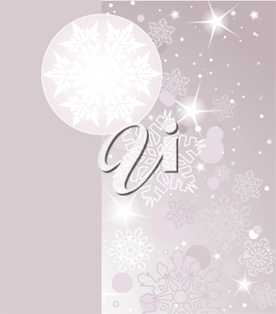 Winter time background with place for copy/space