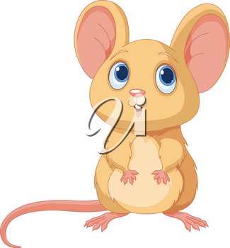 Illustration of adorable mice