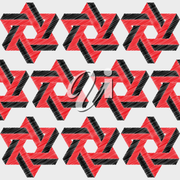 Hexagon patterned background design that  seamless pattern