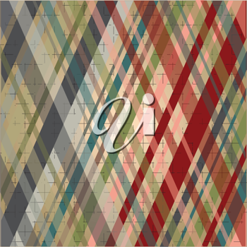 vintage colored background with stripes and basic lines
