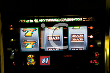 Royalty Free Photo of a Slot Machine