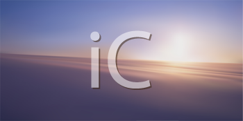 Royalty Free Clipart Image of a Sunrise