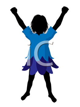 Royalty Free Clipart Image of a Boy Fairy