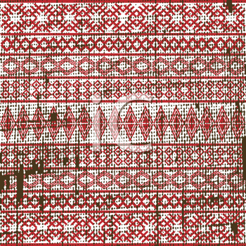 Old ethnic fabric texture