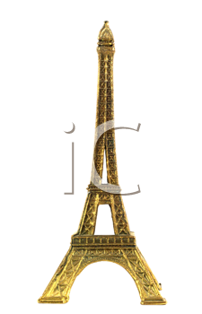 Royalty Free Photo of an Eiffel Tower Miniature
