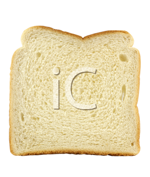 Royalty Free Photo of a Slice of White Bread
