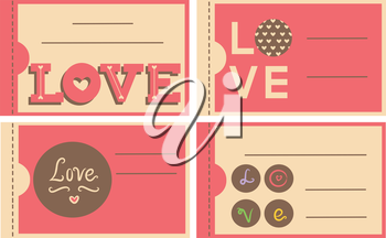 Illustration Featuring Ready to Print Valentine Coupons