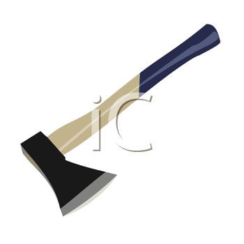 Royalty Free Clipart Image of an Axe