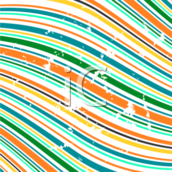 Royalty Free Clipart Image of a Striped Background