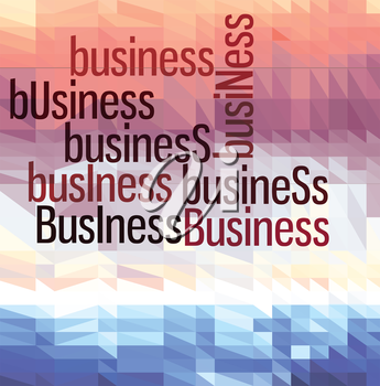 Business colorful vector  wallpaper