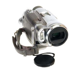 Royalty Free Photo of a Video Camera