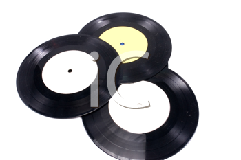 Royalty Free Photo of Vinyl Records