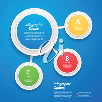 3D Networked Infographic,