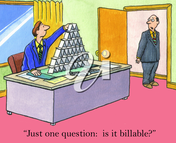 Just one question:  is it billable?