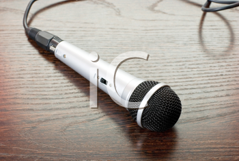 Royalty Free Photo of a Microphone