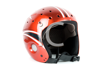 Royalty Free Photo of a Skier Helmet