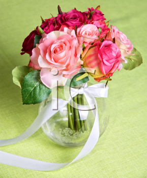 Royalty Free Photo of a Wedding Bunch of Flowers