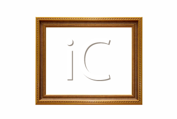 decoration frame isolated on a white