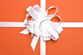 Royalty Free Photo of a Red Christmas Gift