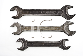 Royalty Free Photo of Old Spanners
