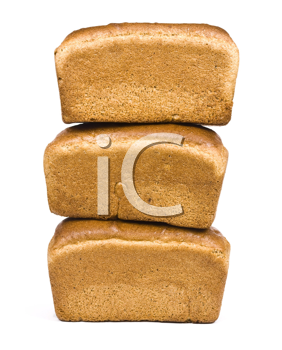 Royalty Free Photo of Stacks of Bread