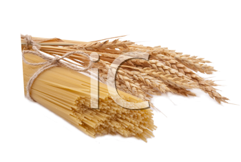 Spaghetti and ears of wheat