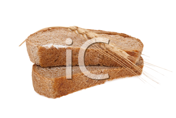 Sliced bread with ear