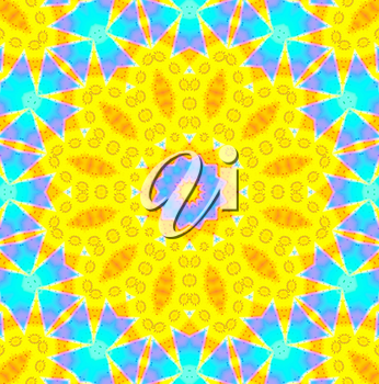 Bright abstract ornamental background