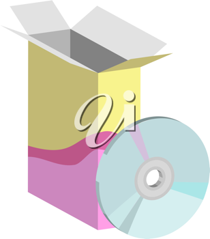 Royalty Free Clipart Image of Computer Software