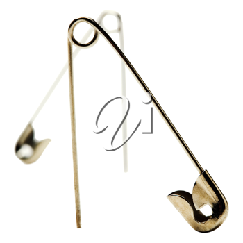 Royalty Free Photo of a Safety Pin