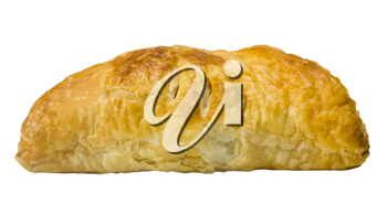Close-up of a stuffed pastry