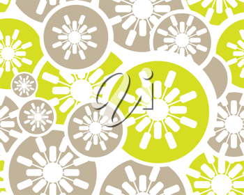 Royalty Free Clipart Image of a Retro Background