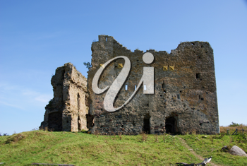 Royalty Free Photo of Castle Ruins