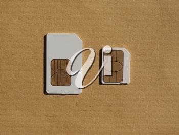 SIM and USIM cards used in mobile telephony devices such as phones and smart phones