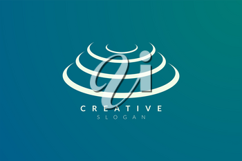 Stage logo design. Minimalist and modern vector illustration design suitable for community, business, and product brands.