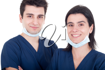 Royalty Free Photo of Two Doctors