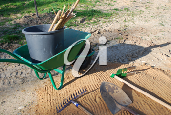 Royalty Free Photo of Agricultural Tools