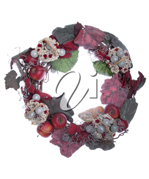 Royalty Free Photo of a Christmas Wreath