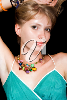 Royalty Free Photo of a Young Woman