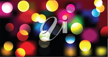 Royalty Free Clipart Image of an Abstract Light Background
